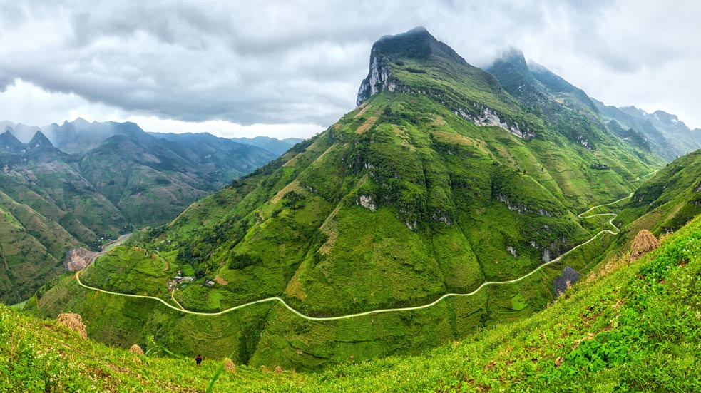 Ha Giang - hory severu