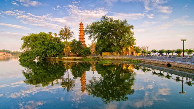Hanoj hlavní město Vietnamu
