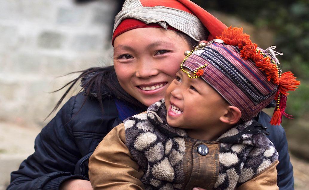 Hory a domorodé kmeny v Sapa