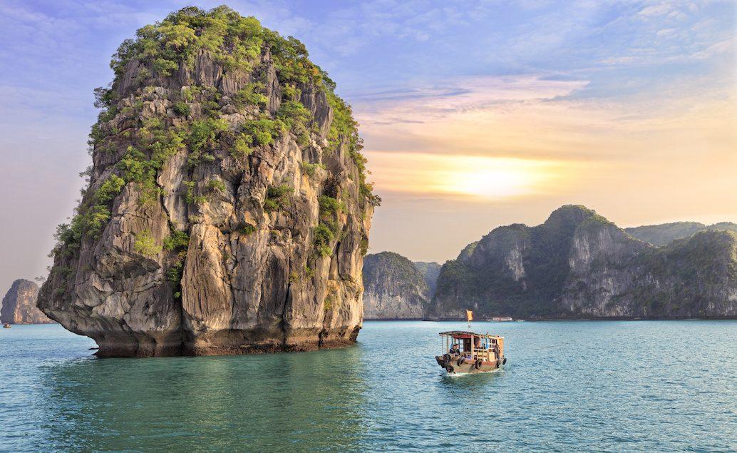 Japonsko a krásy severního Vietnamu