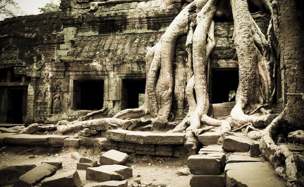 Velká cesta Vietnam, Kambodža